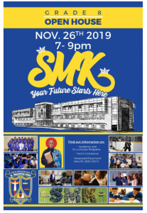 St. Max Grade 8 Open House
